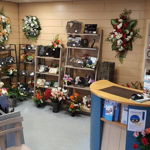 accessoires disponibles pour cérémonies d'enterrements