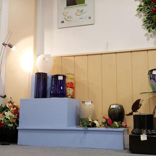 urnes pour crémation et dispersion