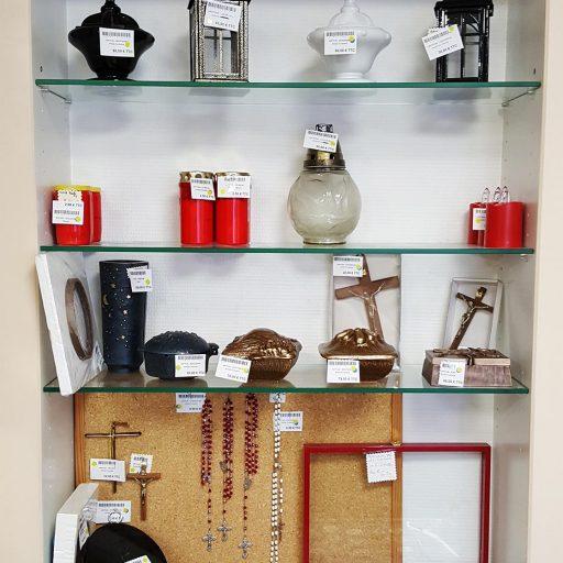 accessoires bougies chapelets et croix en bronze