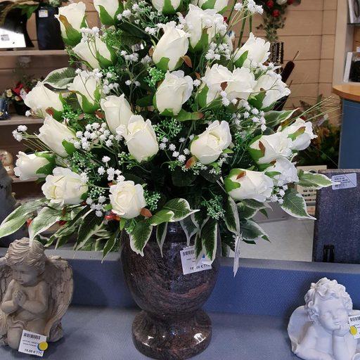 accessoires fleurs synthétiques pour cimetière
