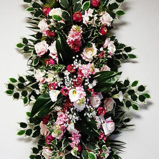 accessoires couronne de fleurs pour les obsèques