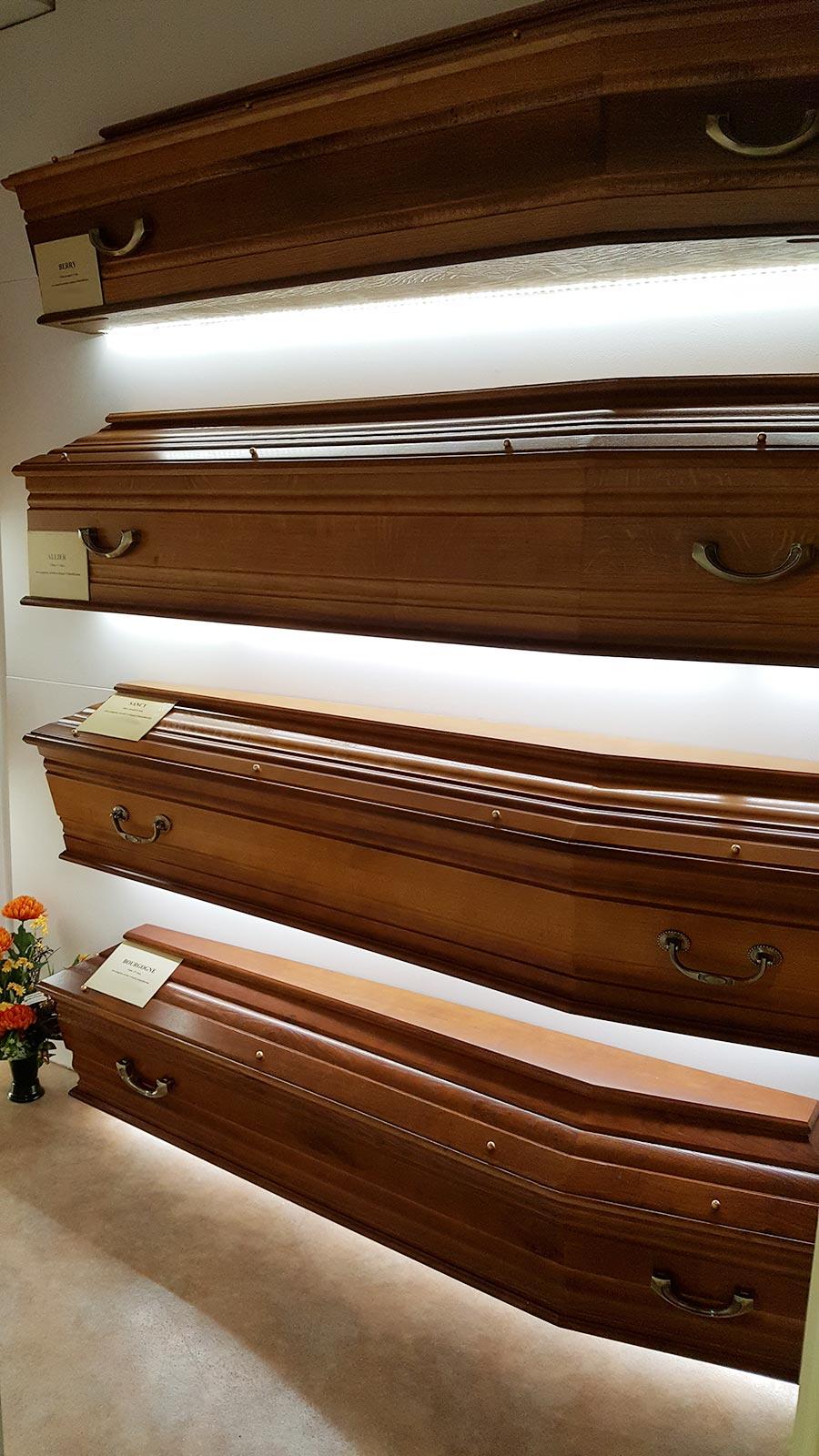 Les cercueils